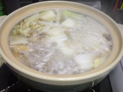 野菜たっぷりの鍋♪